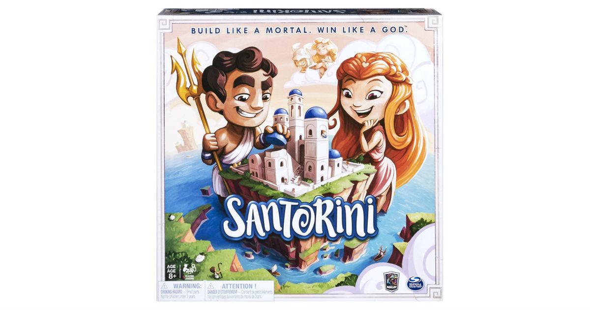 Santorini Board Game ONLY $16.92 (Reg. $30)