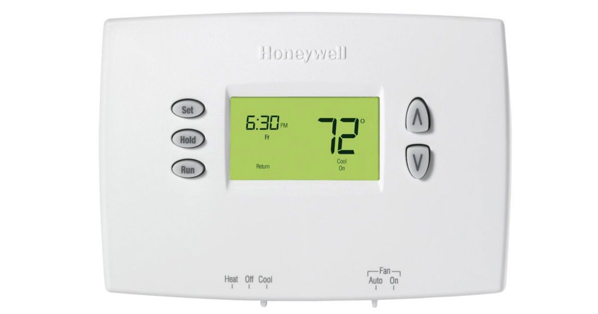 Honeywell 5-2 Day Programmable Thermostat ONLY $10 (Reg $30)