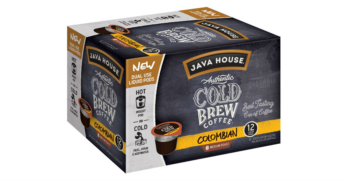 Java House Cold Brew ONLY $5.00 (Reg. $12)