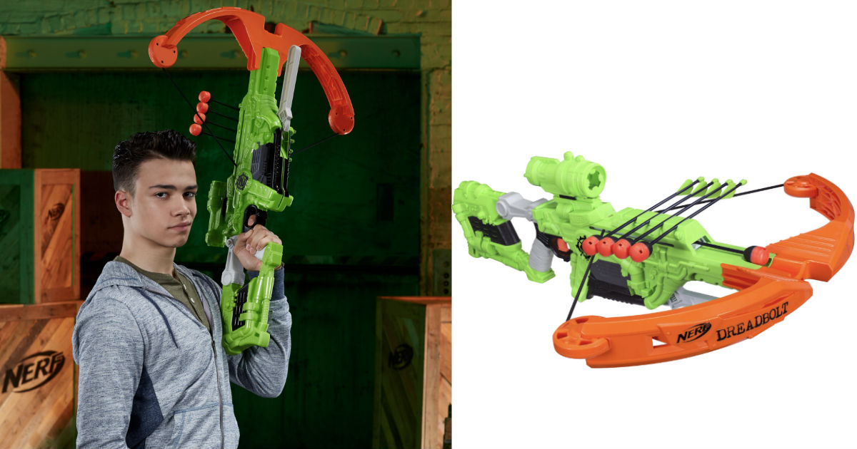 Nerf Zombie Strike Dreadbolt ONLY $19.98 (Reg $50)