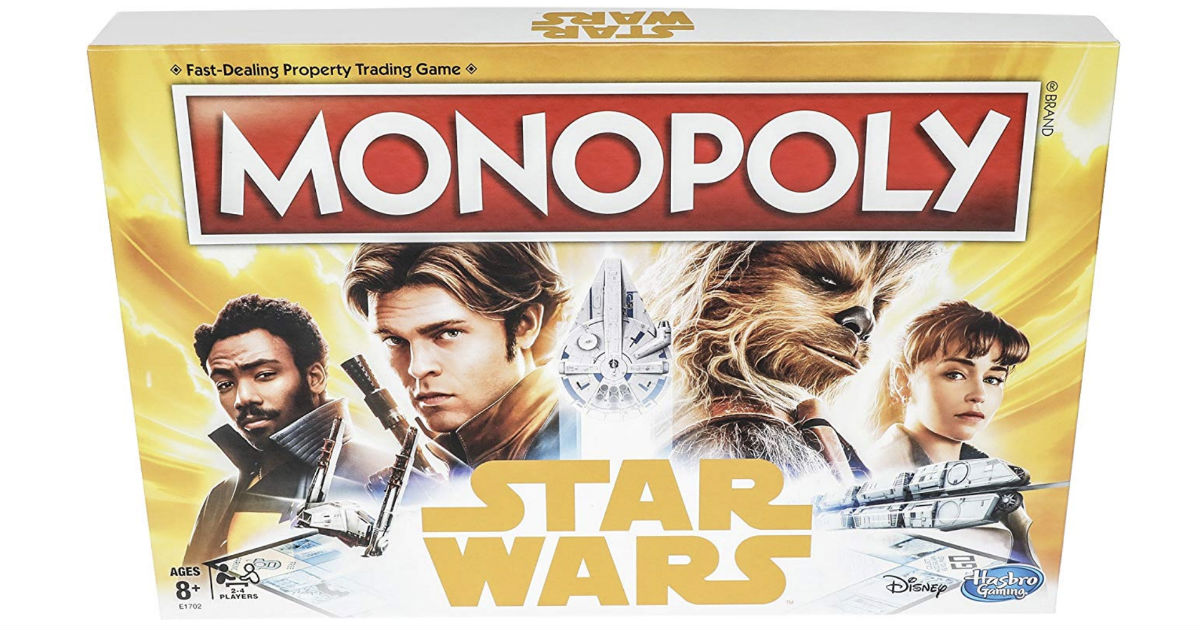 Monopoly Star Wars Edition Game ONLY $11.99 (Reg $20)