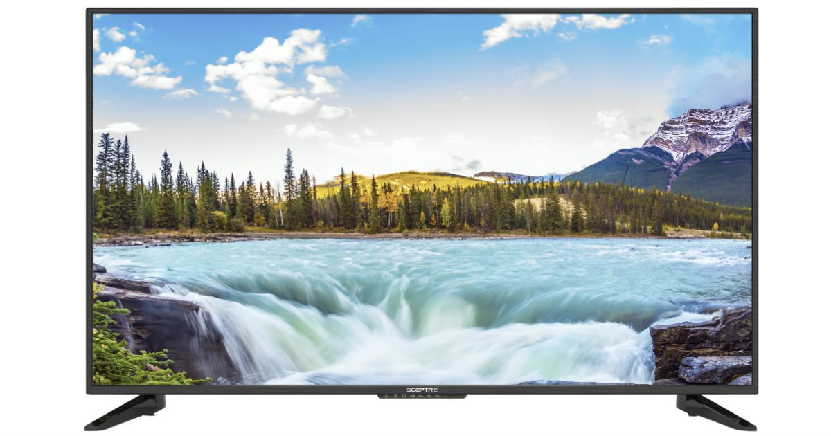 Sceptre 43-in Class FHD LED TV ONLY $199.99 (Reg $350)
