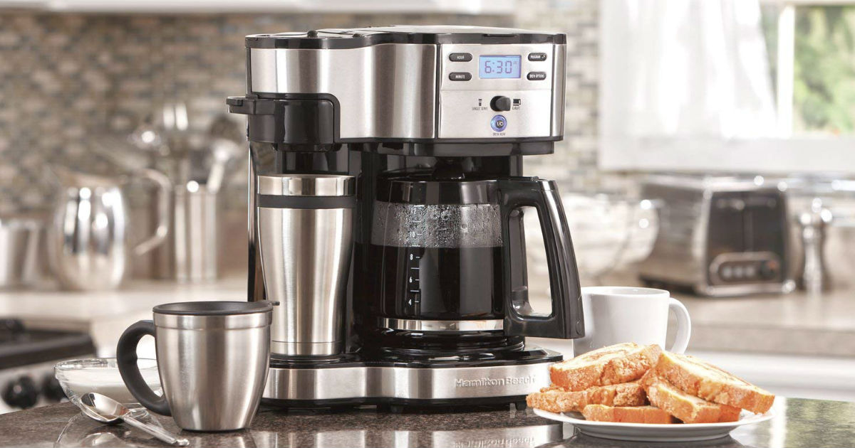 Hamilton Beach Coffee Maker ONLY $47.99 (Reg. $89)
