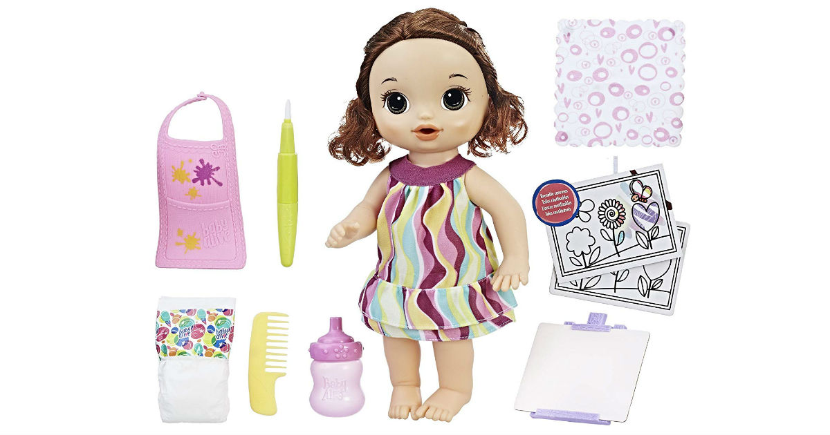 Baby Alive Finger Paint Baby ONLY $25.11 (Reg. $65)