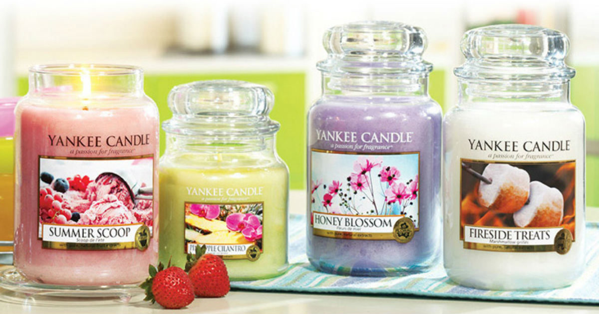 Large Classic and Tumbler Yankee Candles ONLY $10 (Reg. $29.50)