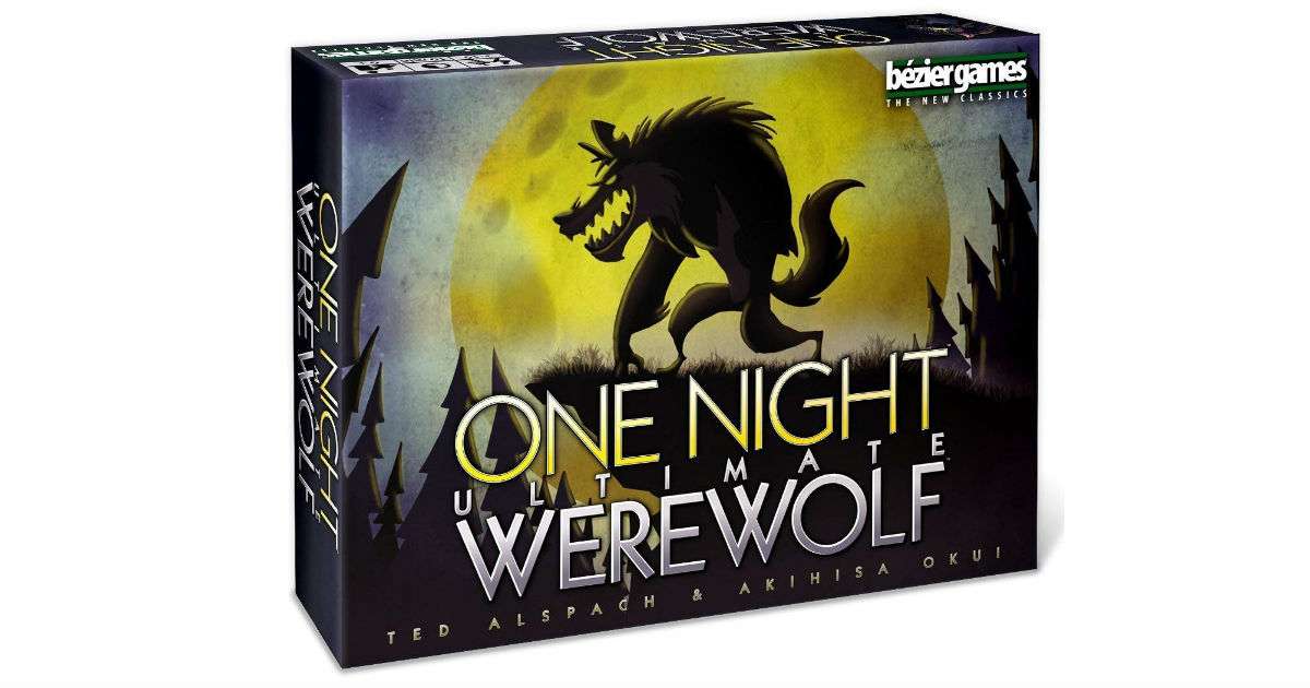 One Night Ultimate Werewolf Game ONLY $11.99 (Reg. $25)