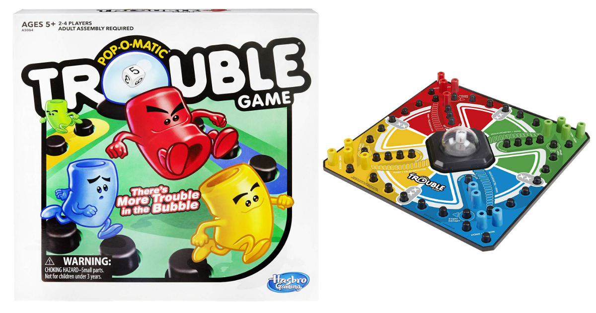 Trouble Game ONLY $6.79 on Amazon (Reg. $13)