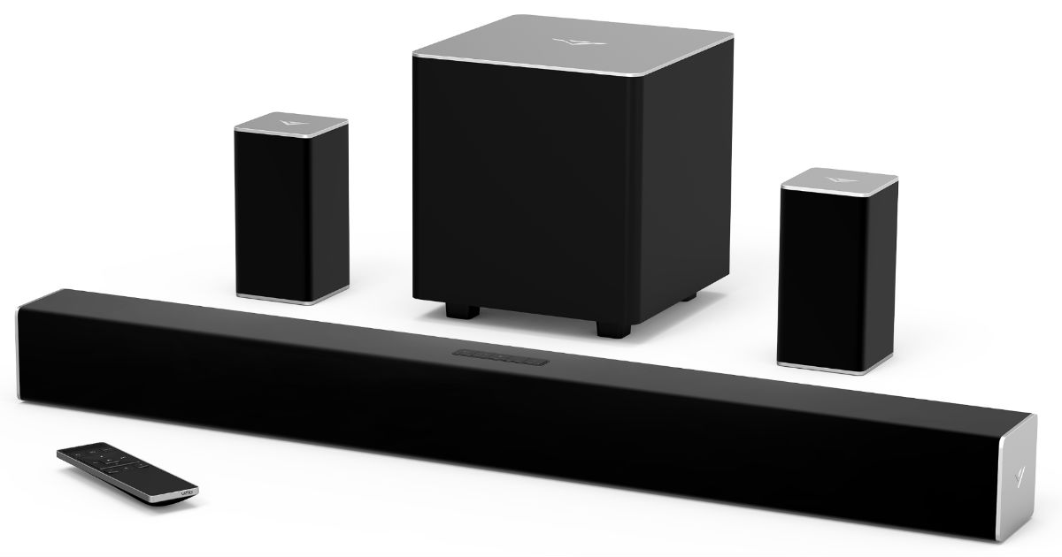VIZIO 32-In Channel Soundbar System ONLY $129 (Reg $168)