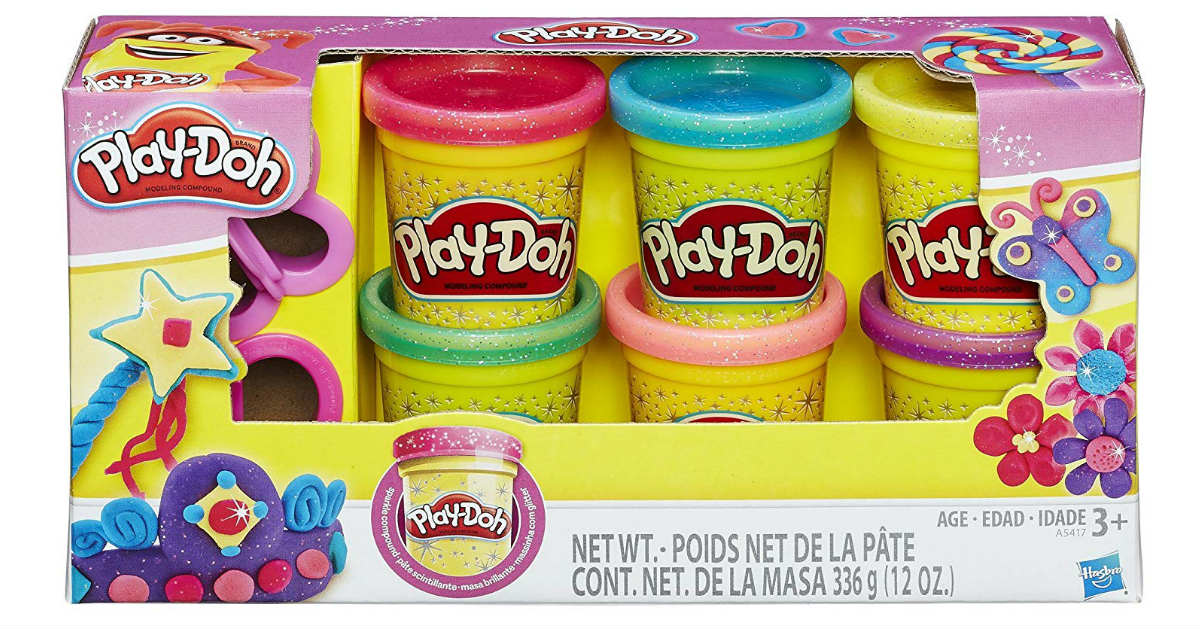 Play-Doh Sparkle Compound Collection ONLY $4.99 (Reg. $10)