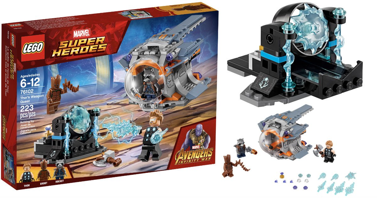 LEGO Super Heroes Weapon Quest Set ONLY $12.99 (Reg $20)