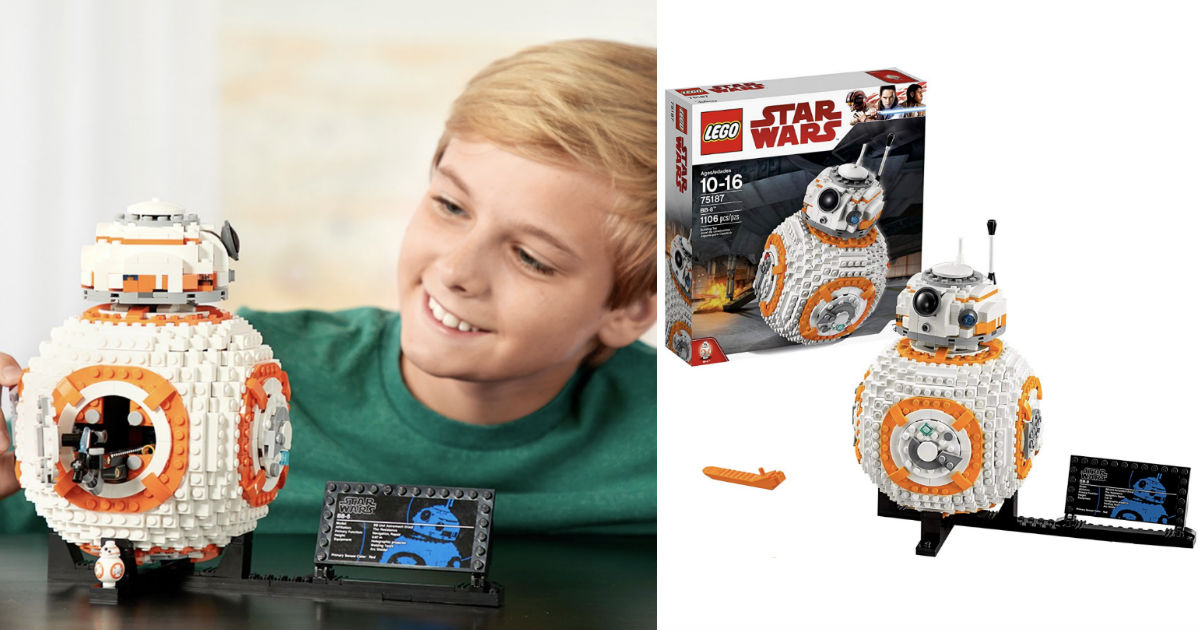 LEGO Star Wars VIII BB-8 Build...