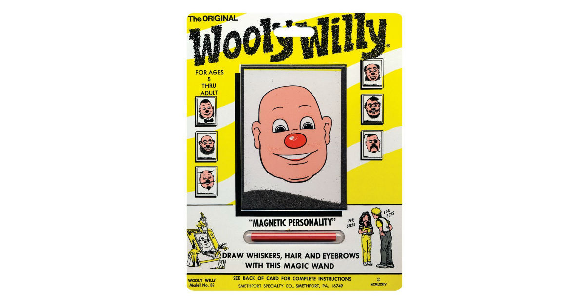 PlayMonter Magnetic Wooly Willy ONLY $2.61 (Reg. $8)