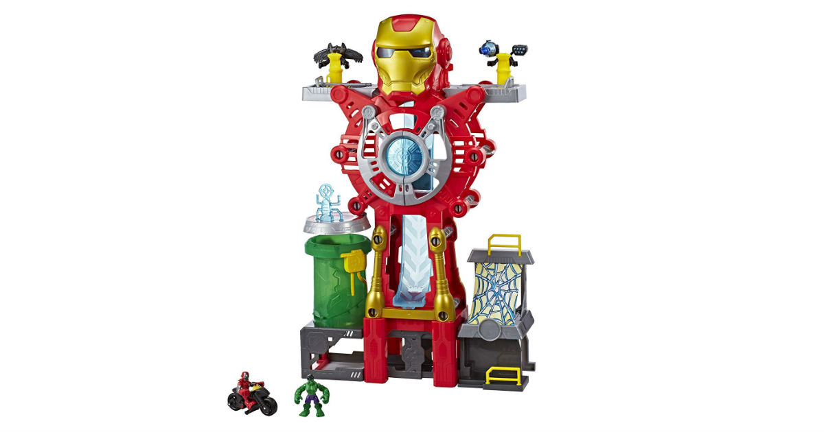 Playskool Heros Iron Man Headquarters ONLY $29.88 (Reg. $60)
