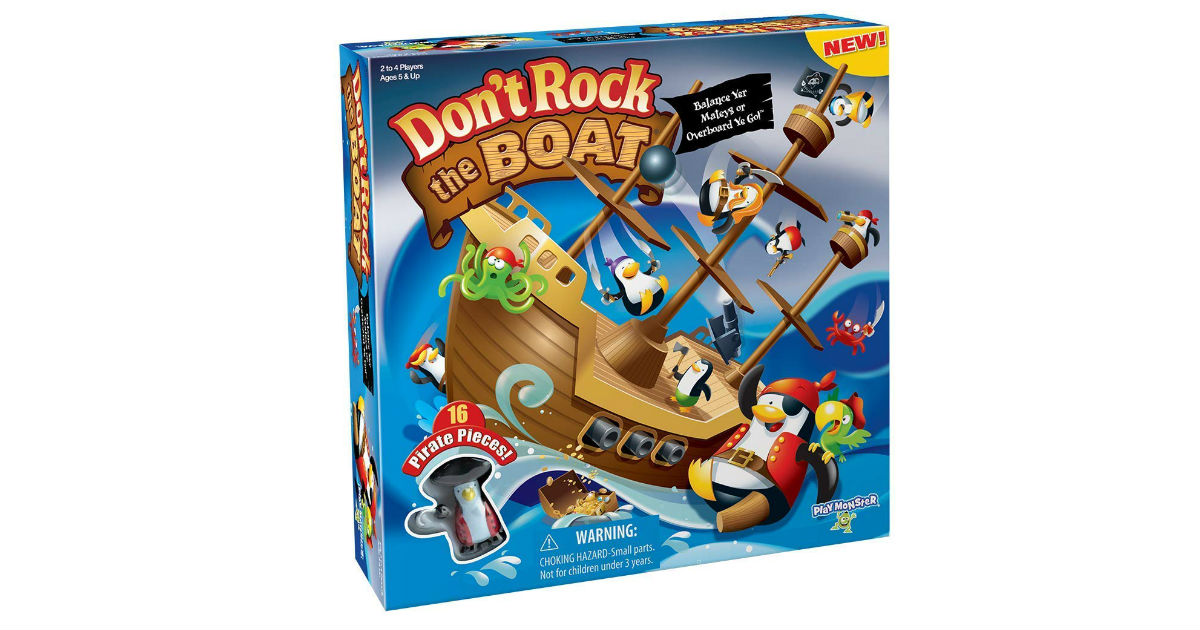 Don't Rock the Boat Game ONLY $8.99 (Reg. $22)