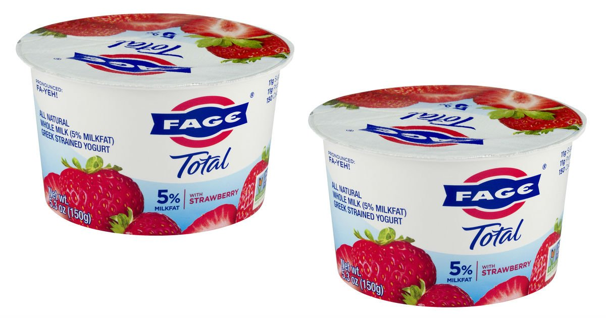 Fage Yogurt ONLY $0.50 at Target (Reg. $1.19)