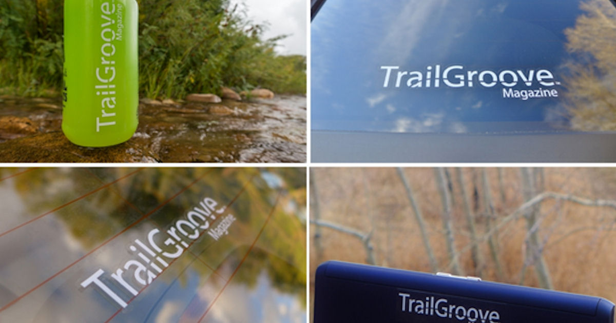 FREE TrailGroove Sticker...