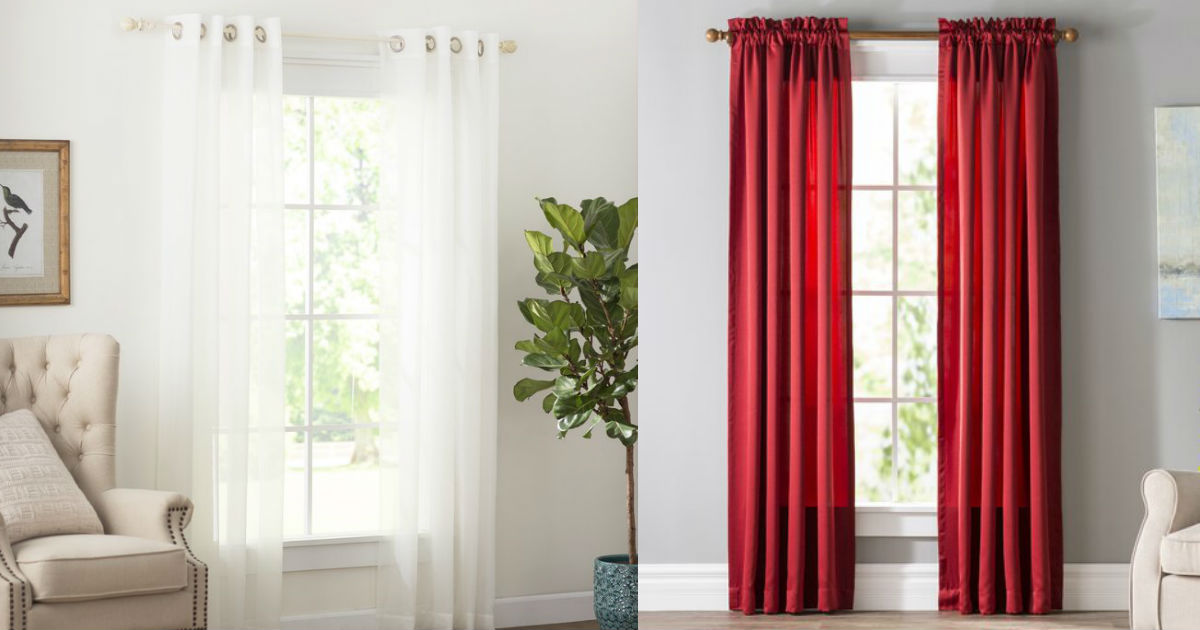 Wayfair Basics Curtains as Low as $7.29 (Reg. $28)