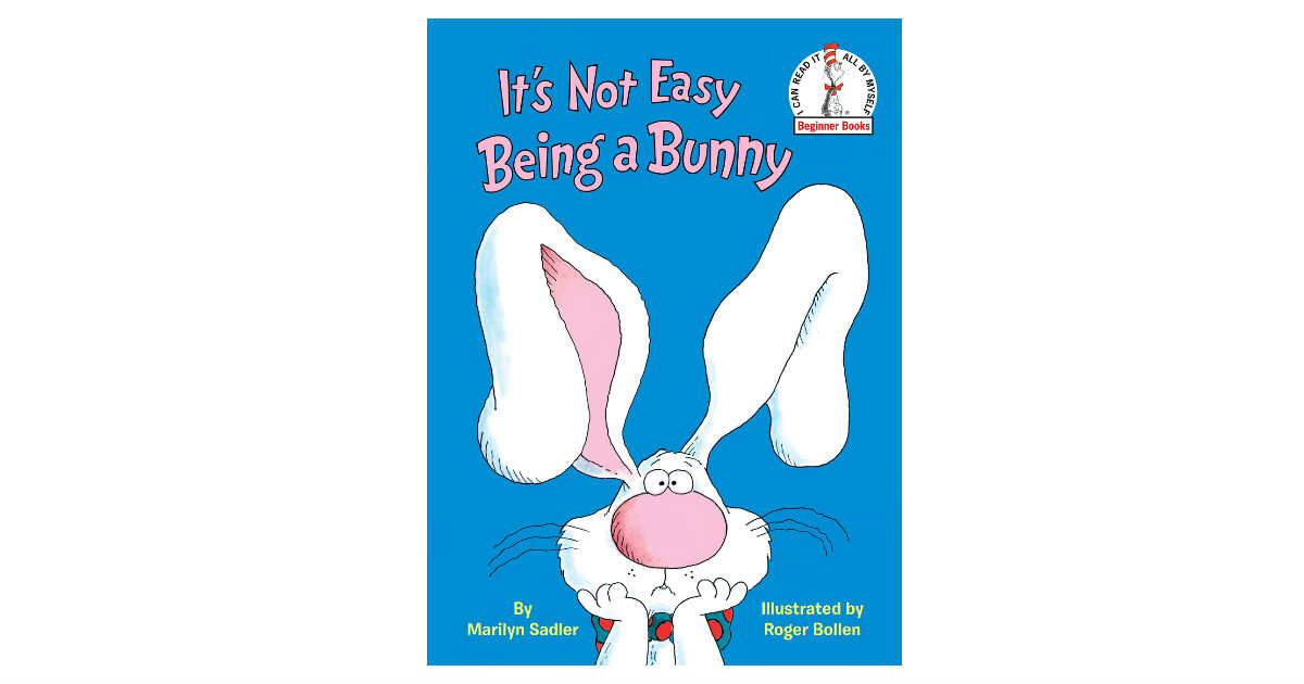 It's Not Easy Being a Bunny ONLY $6 (Reg. $10)