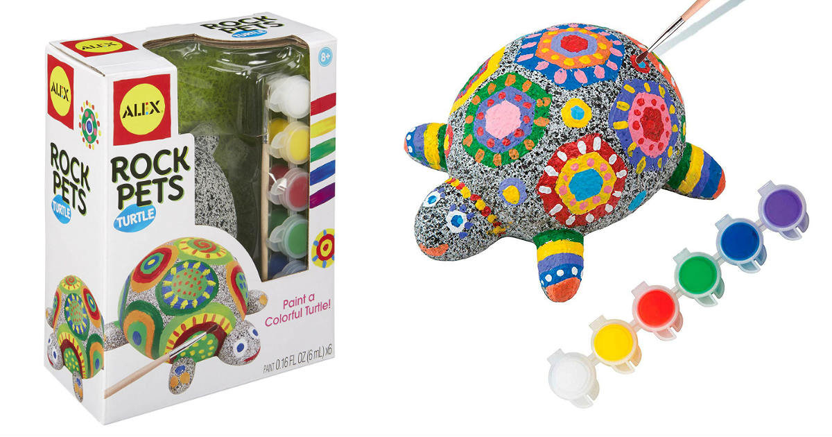 Alex Toys Craft Rock Pet Turtle ONLY $13.78 (Reg. $23)