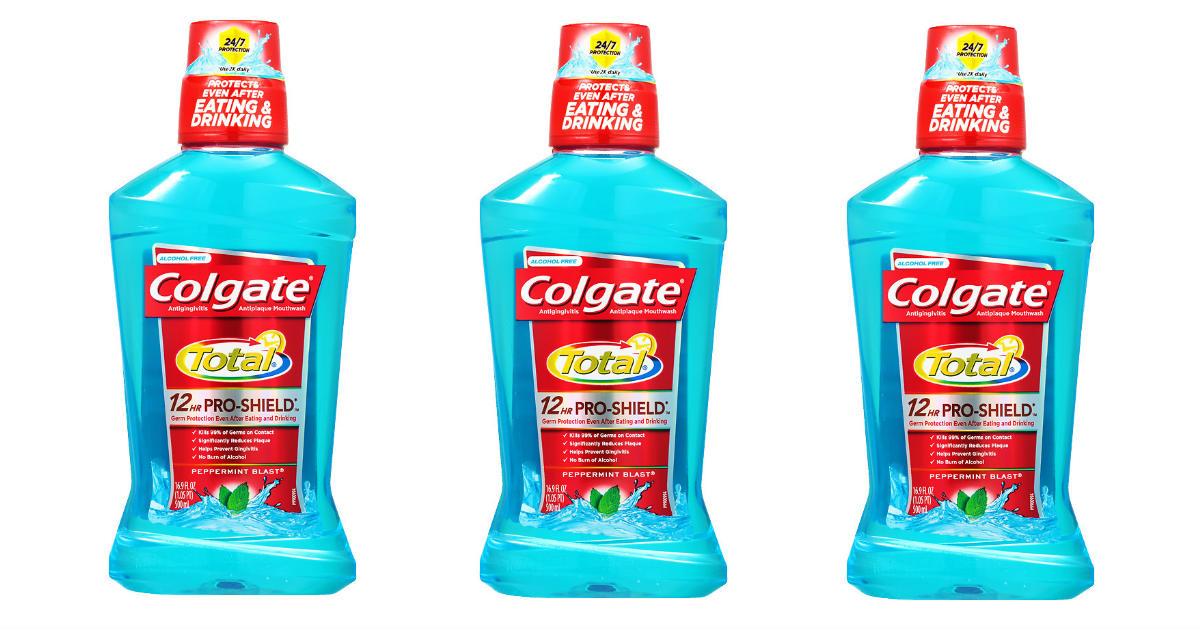 Free Colgate Mouthwash at CVS