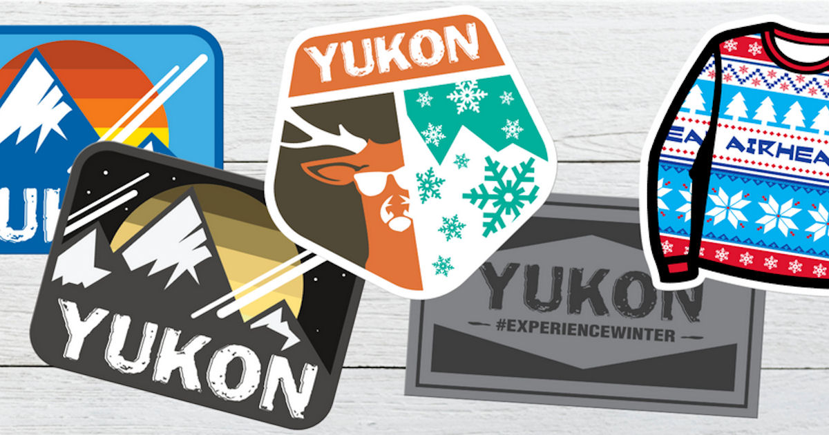 Free Yukon Charlie's Sticker Set - Free Product Samples