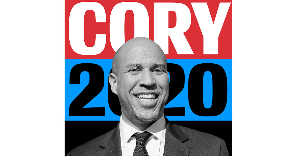 FREE Cory Booker 2020 Sticker.