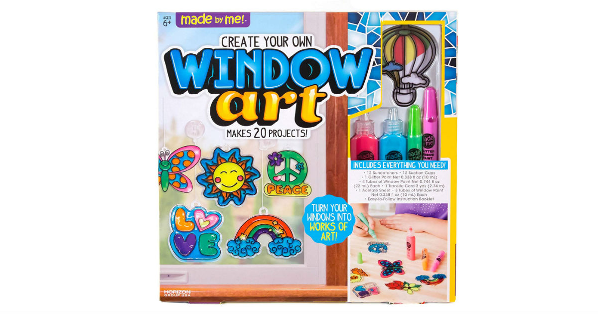 Made By Me Window Art ONLY $9.75 (Reg. $19)