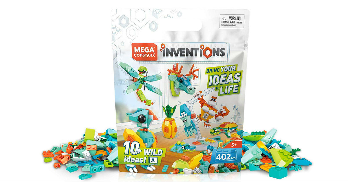Mega Construx Inventions Wild Pack ONLY $7.52 (Reg. $20)
