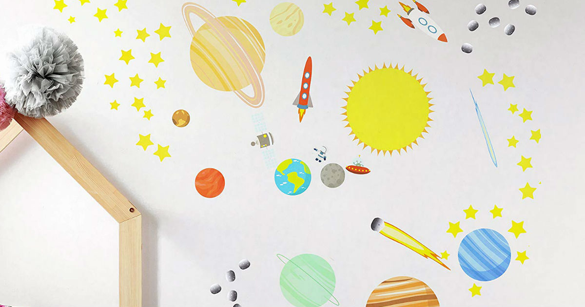 Solar System Wall Decals ONLY $7.99 (Reg. $18)