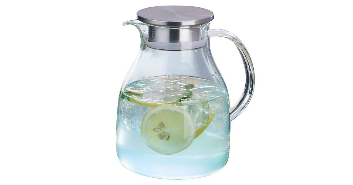 WarmCrystal Glass Pitcher ONLY $14.99 (Reg. $25)
