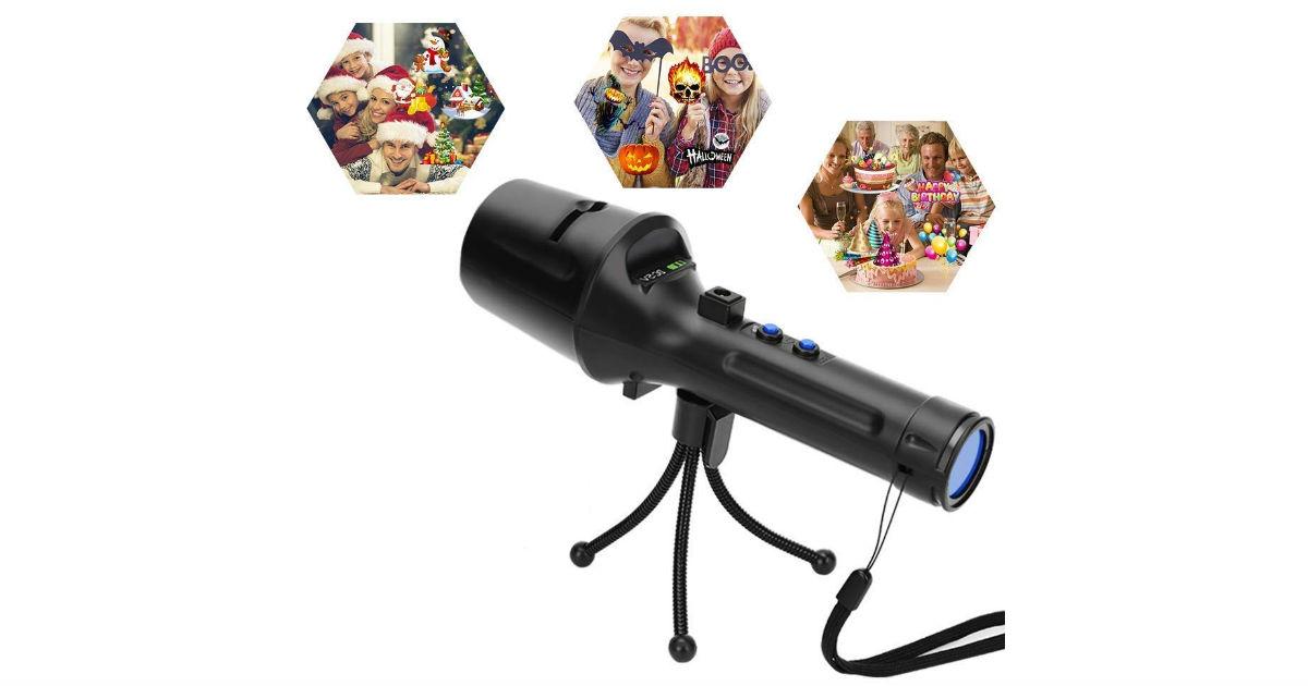 Kepeak Projector Flashlight ONLY $9.99 (Reg. $23)