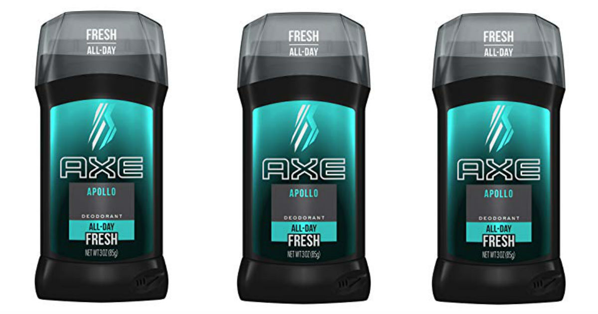 New $3.00 Axe Coupon: Deodorant Only $2.38 at Walmart