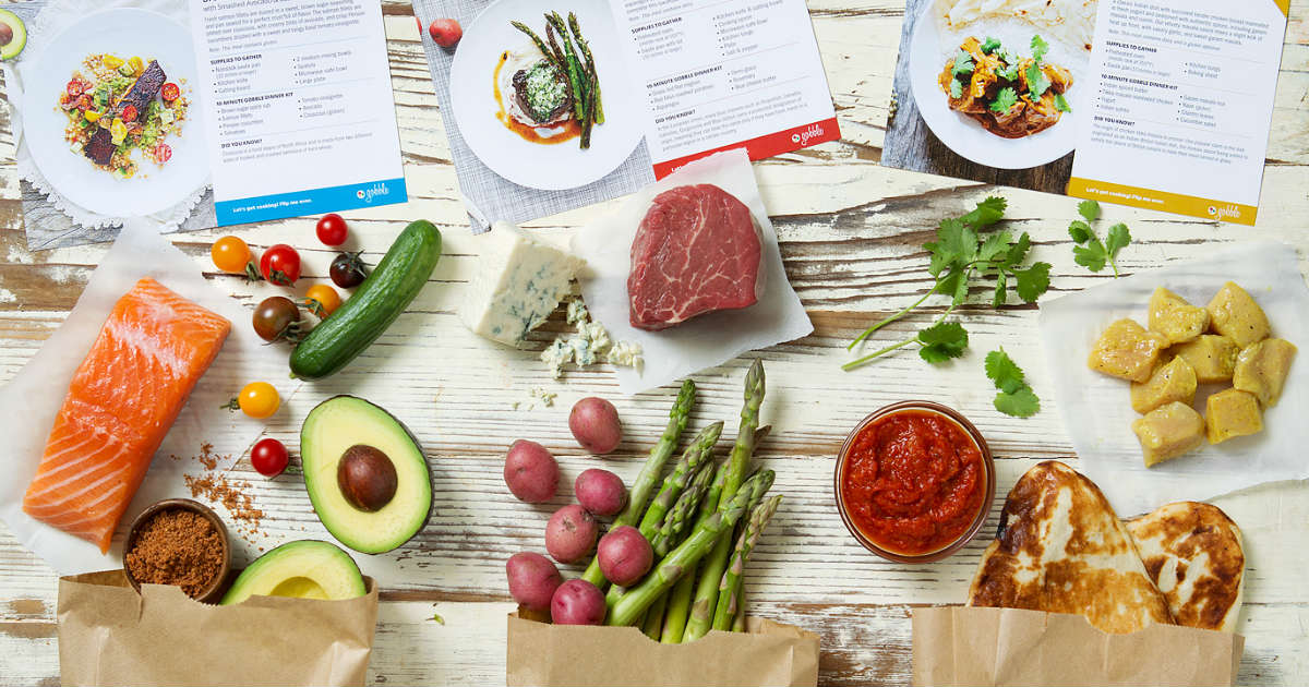 6 Meals for ONLY $36 with Gobble