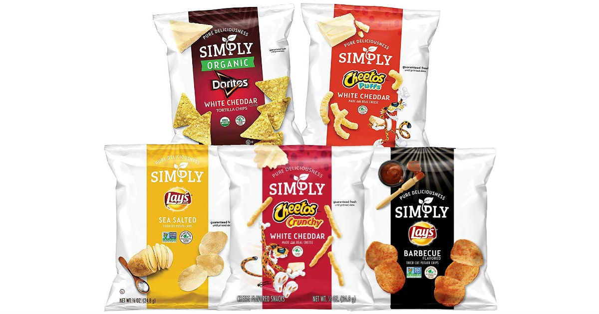 Simply Organic Doritos Tortilla Chips 36-Count ONLY 9.28 Shipped