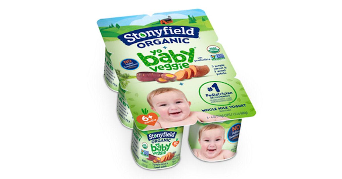 Free 6pk Stonyfield Organic YoBaby Veggie Yogurt at Target