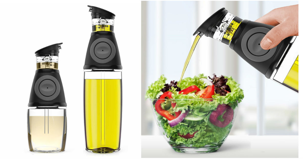 Oil and Vinegar Dispensers ONLY $23.99 (Reg. $40)