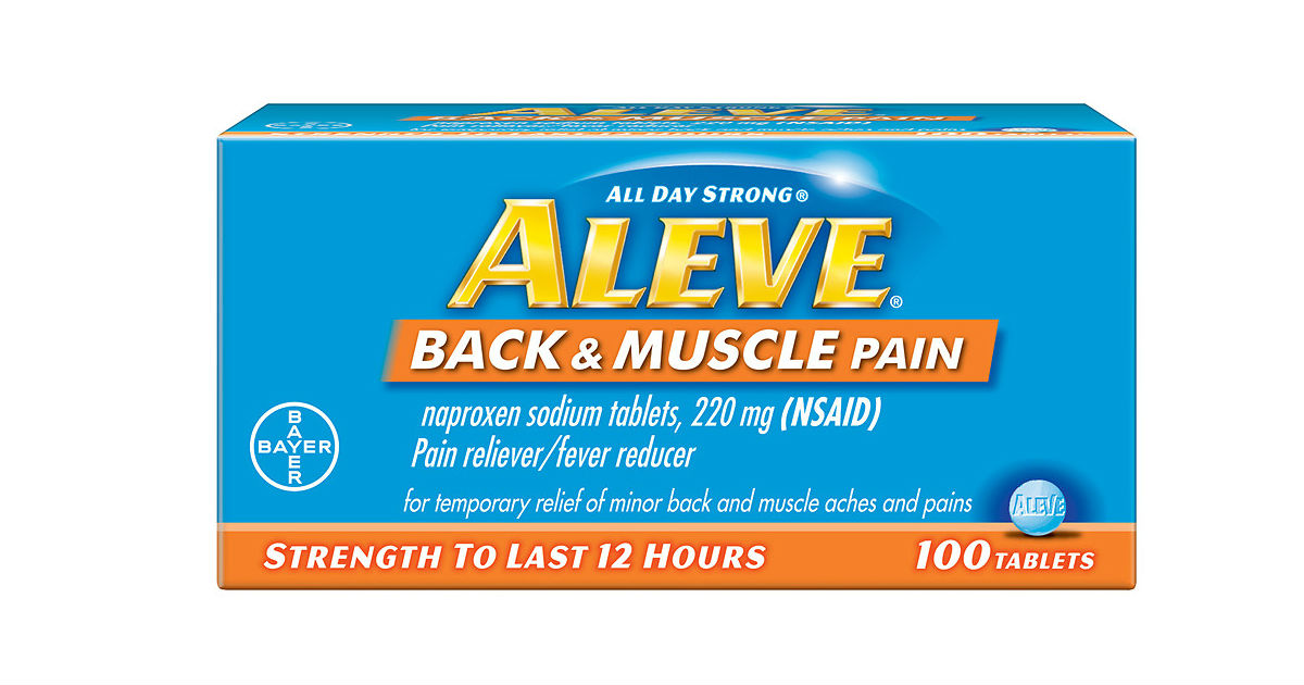 Aleve Back & Muscle Pain ONLY $0.59 at CVS (Reg. $8.79)