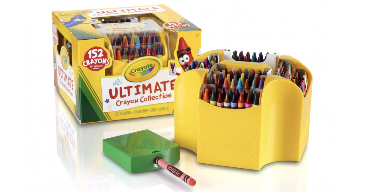 Crayola 152-Ct Ultimate Crayon Collection ONLY $10.21 (Reg $15)