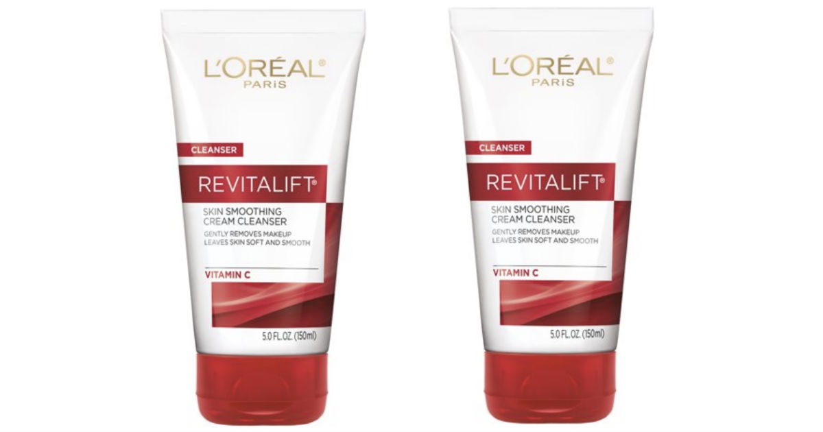 L'Oreal Revitalift Skin Cream Cleanser ONLY $1.59 at Walgreens