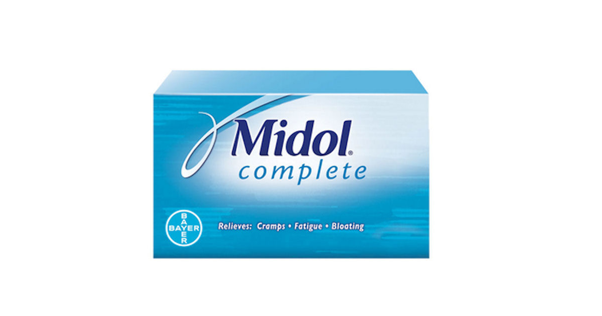 FREE Sample of Midol Complete.