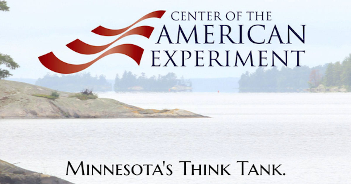 FREE Center of the American Experiement Bumper Sticker