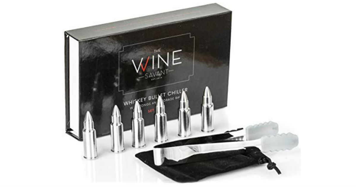 Whiskey Stones 6-Count Bullets ONLY $12.69 (Reg. $35)