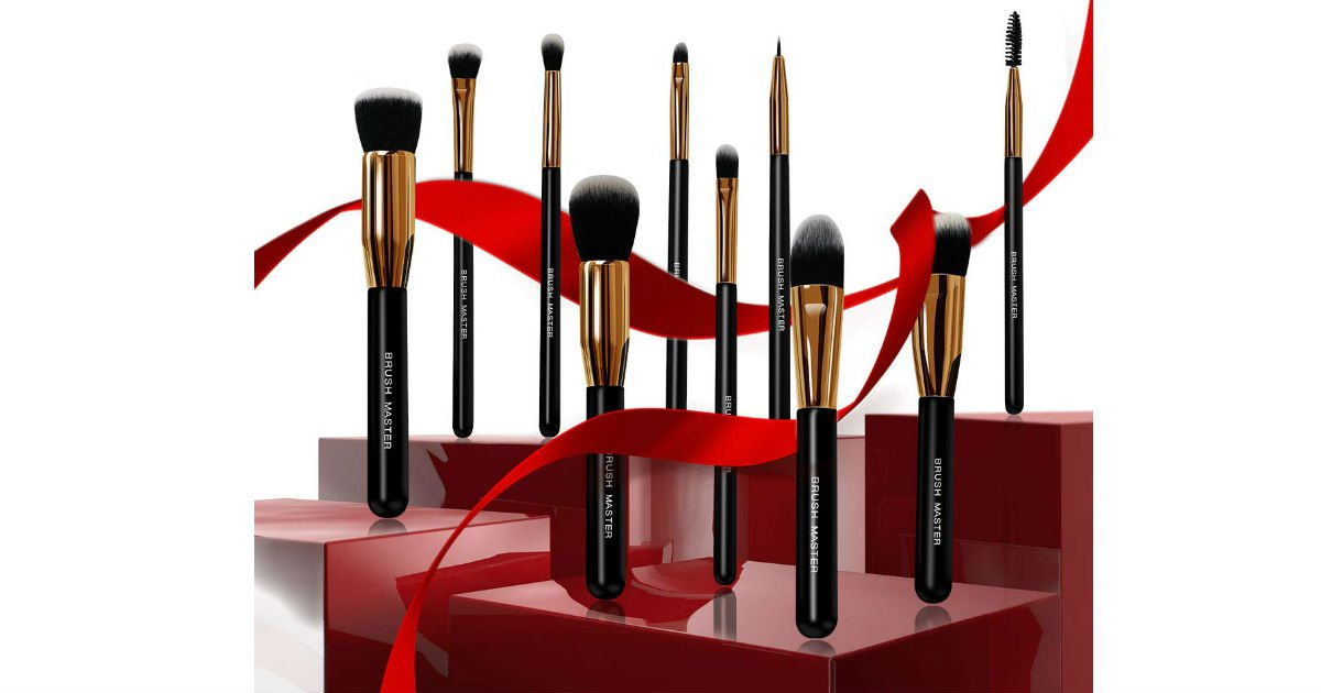 Brush Master Premium Makeup Brushes ONLY $7.99 on Amazon