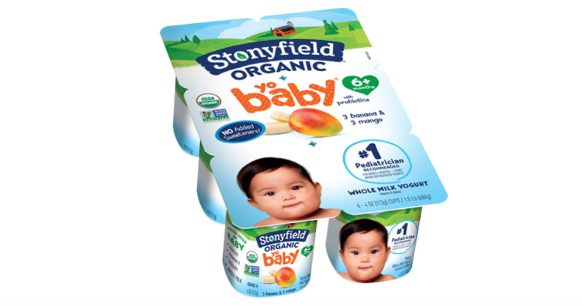 Stonyfield YoBaby Organic Yogurt Only $0.60 at Target (Reg. $4)