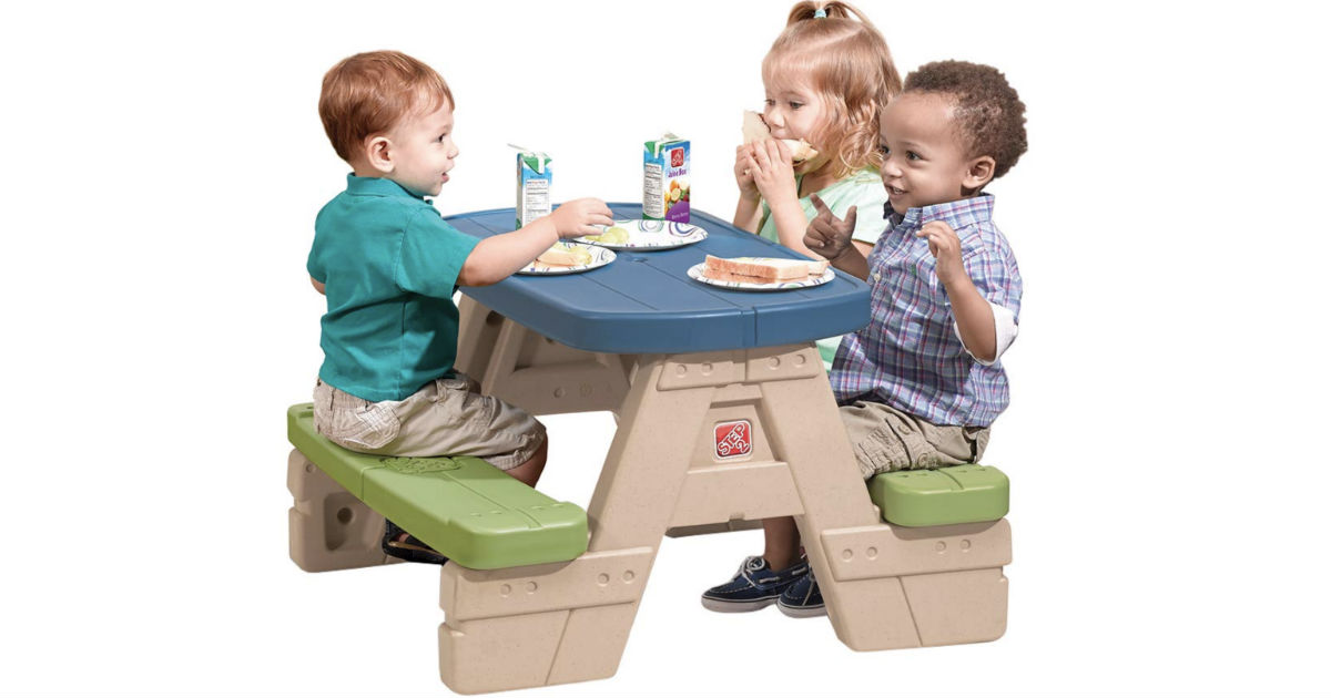 Step2 Sit and Play Kids Picnic Table ONLY $34.38 Shipped