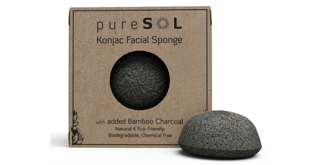 pureSOL Konjac Facial Sponge ONLY $6.80 (Reg. $16)