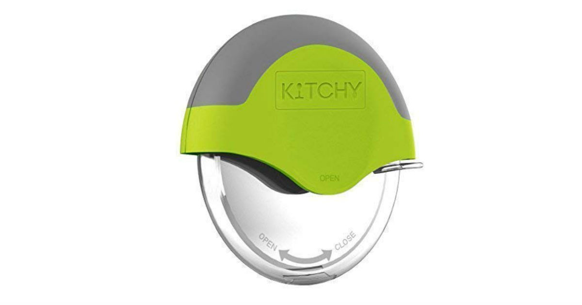 Kitchy Pizza Cutter Wheel ONLY $11.85 (Reg. $30)