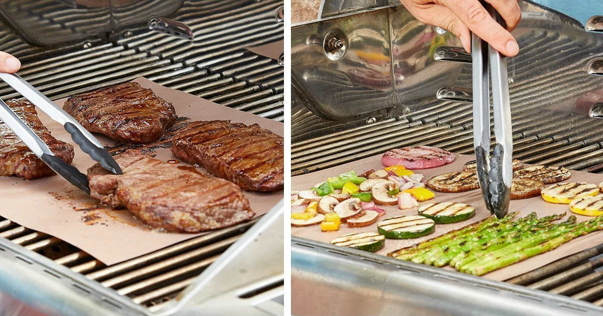 Copper Grill Mats ONLY $8.57 (...