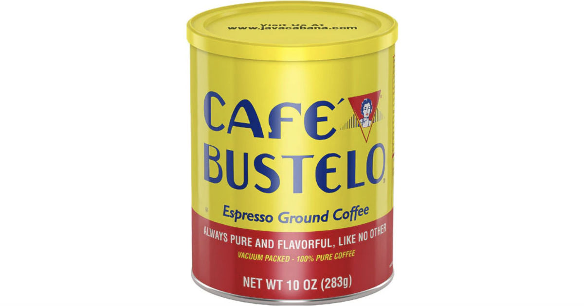 Cafe Bustelo Espresso Ground Coffee ONLY $1.25 (Reg $4.59)