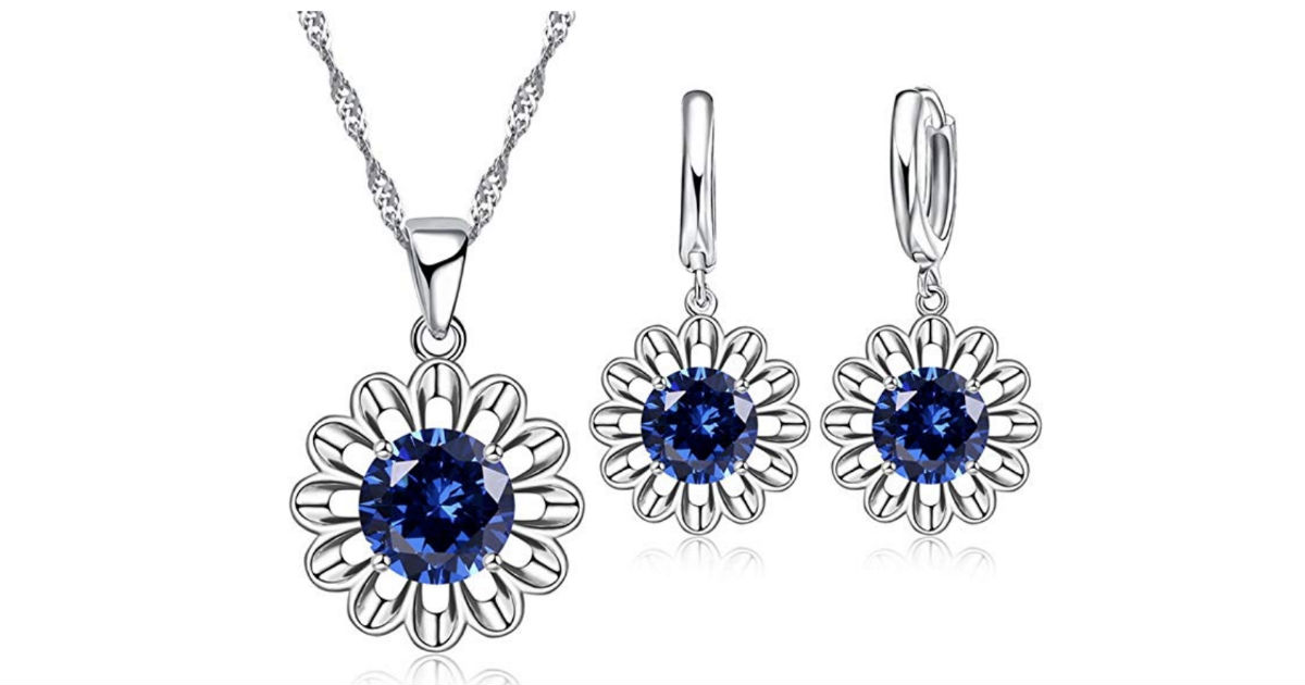 Sun Flower Romantic Jewelry Set ONLY $6.99 Shipped